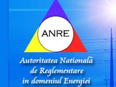ANRE –  Autoritatea Nationala de Reglementare in domeniul Energiei