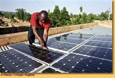 Energie solara in Africa