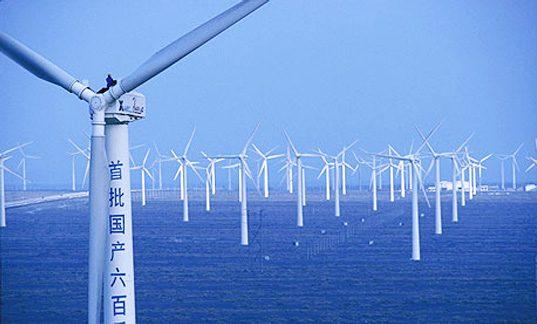 China da 440 de miliarde de dolari pentru energie verde